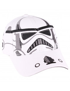Casquette Star Wars VIII - Trooper Helmet