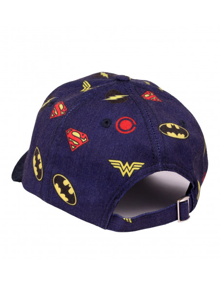 Casquette Justice League DC Comics - All Over Logo Classic