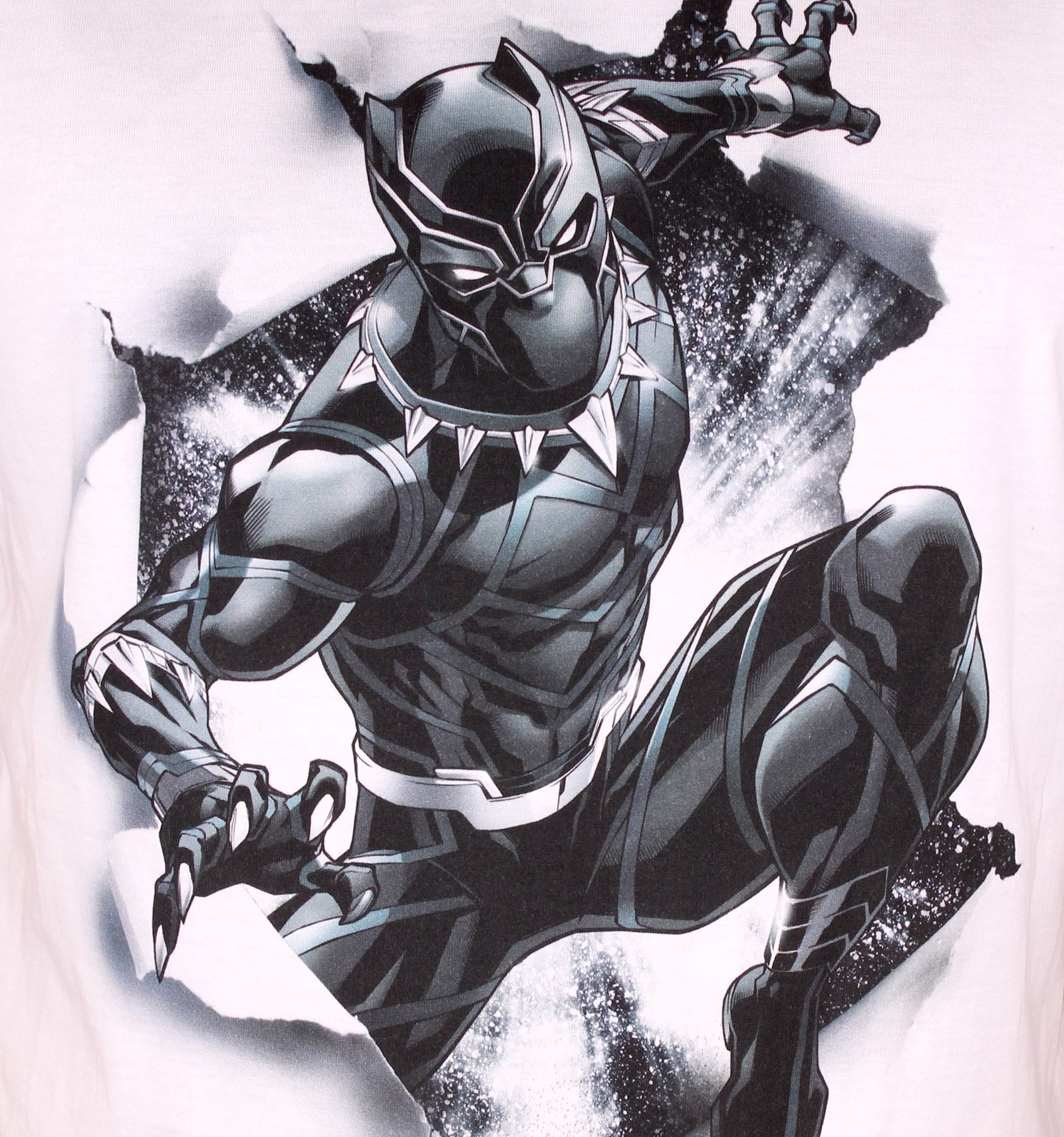 Tshirt Black Panther Marvel Destroy Panthere