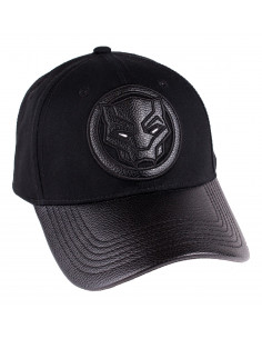 Black Panther Marvel Cap - Logo Deluxe